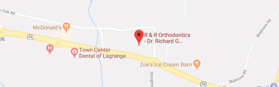 Map R & R Orthodontics in LaGrangeville, NY